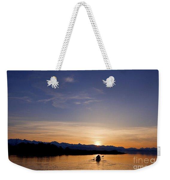 Kayak Silhouettes II Weekender Tote Bag