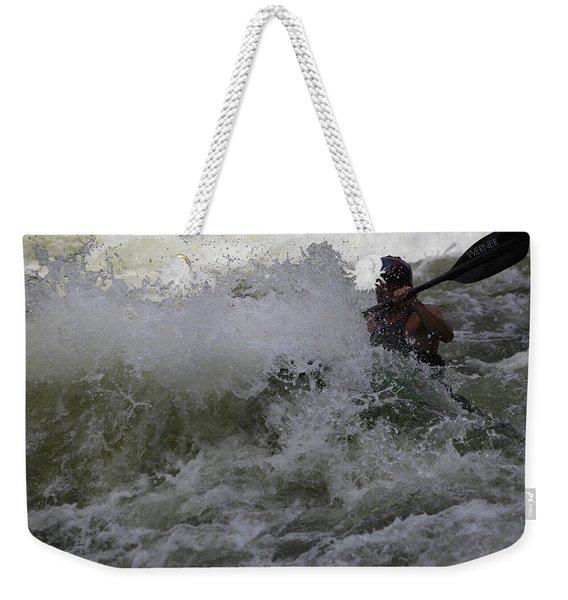 Kayaking Magic Weekender Tote Bag