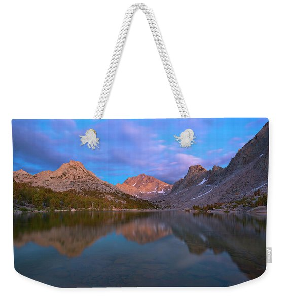 Kearsarge Lake Twilight Weekender Tote Bag