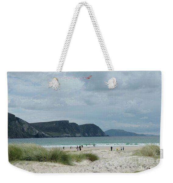 Keel Beach Achill  Weekender Tote Bag