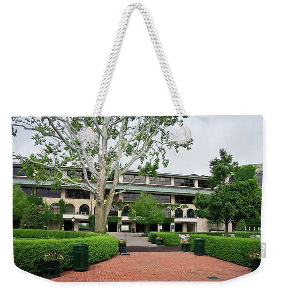 Keeneland Race Track In Lexington Weekender Tote Bag