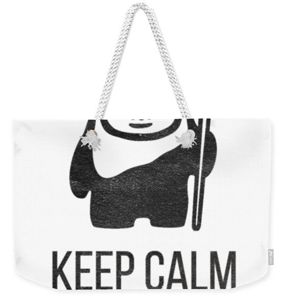Keep Calm And Yub Nub Weekender Tote Bag