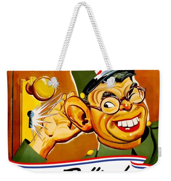 Keep Em Pulling For Victory - Ww2 Weekender Tote Bag
