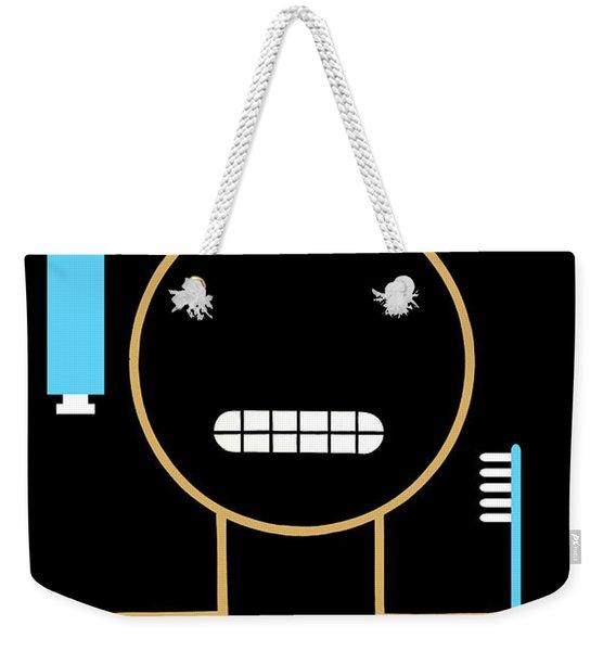 Keep Your Teeth Clean Weekender Tote Bag