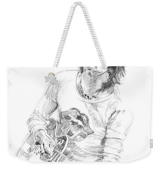Keith Richards Exile Weekender Tote Bag