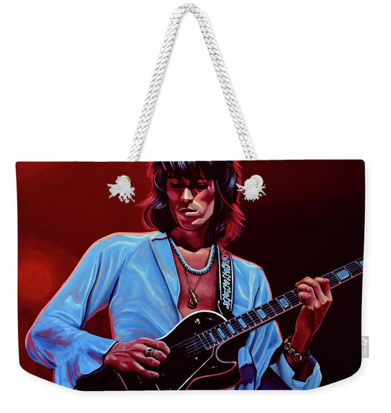 Keith Richards The Riffmaster Weekender Tote Bag