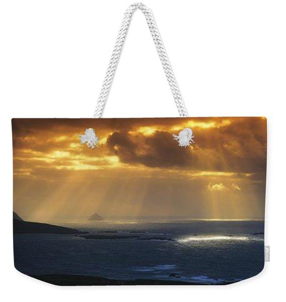 Kenmare Bay, Dunkerron Islands, Co Weekender Tote Bag