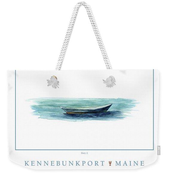 Kennebunkport Dory 2 Weekender Tote Bag