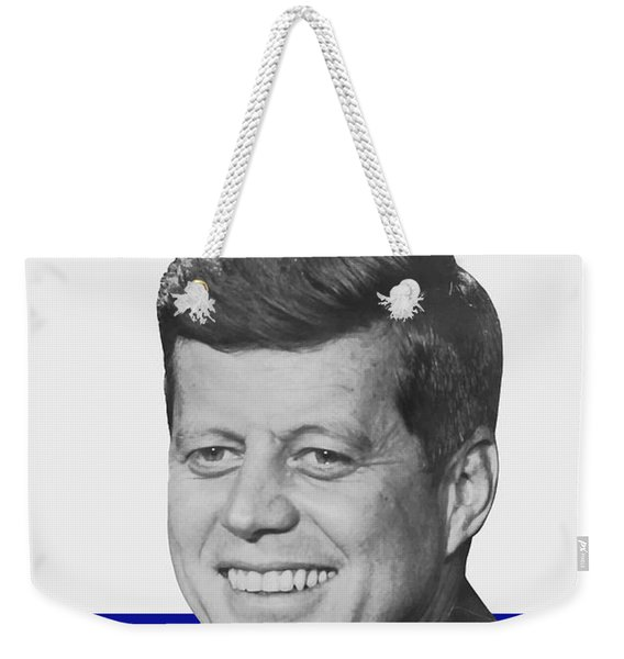 Kennedy For President 1960 Campaign Poster Weekender Tote Bag