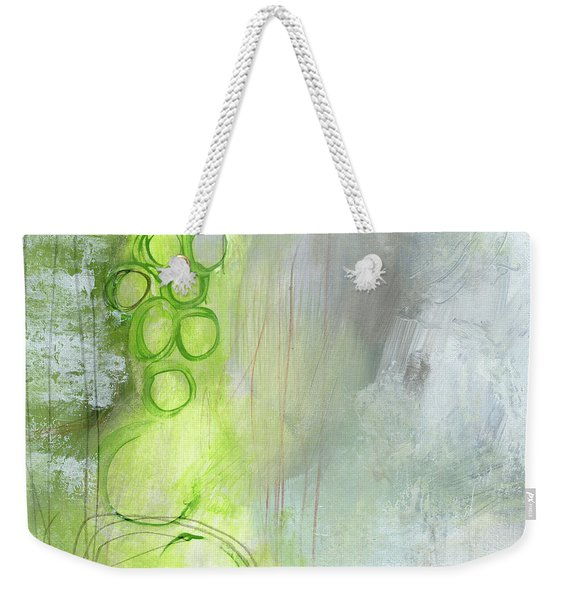 Kensho- Abstract Art By Linda Woods Weekender Tote Bag