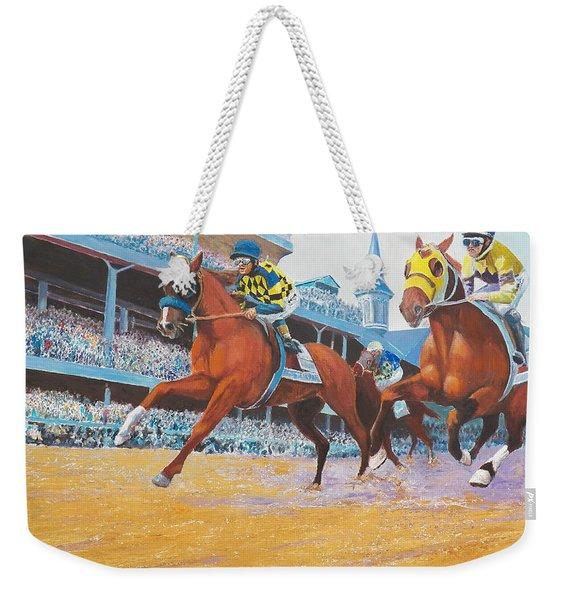 Kentucky Derby Weekender Tote Bag