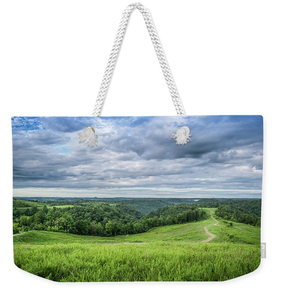 Kentucky Hills And Clouds Weekender Tote Bag