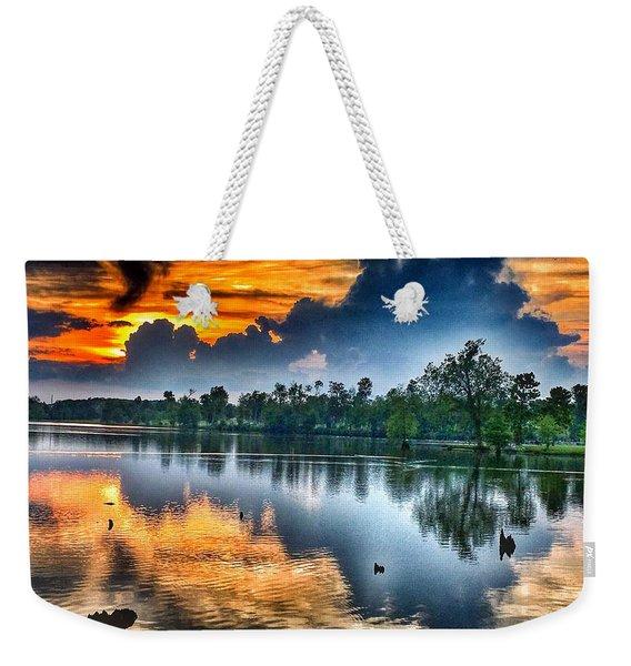 Kentucky Sunset June 2016 Weekender Tote Bag