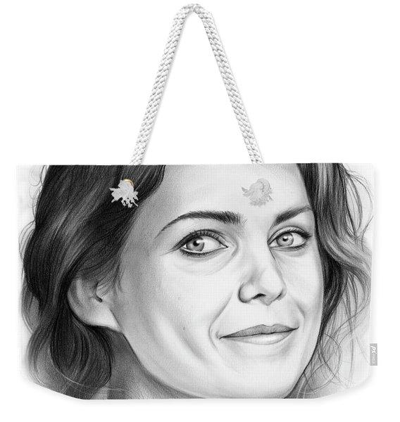 Keri Russell Weekender Tote Bag