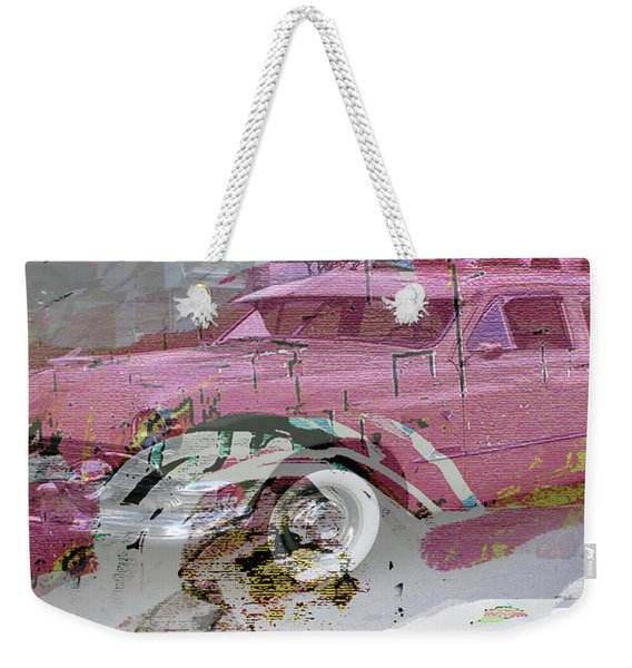 Kerouac Poster  Weekender Tote Bag