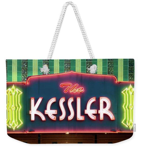 Kessler Theater 042817 Weekender Tote Bag