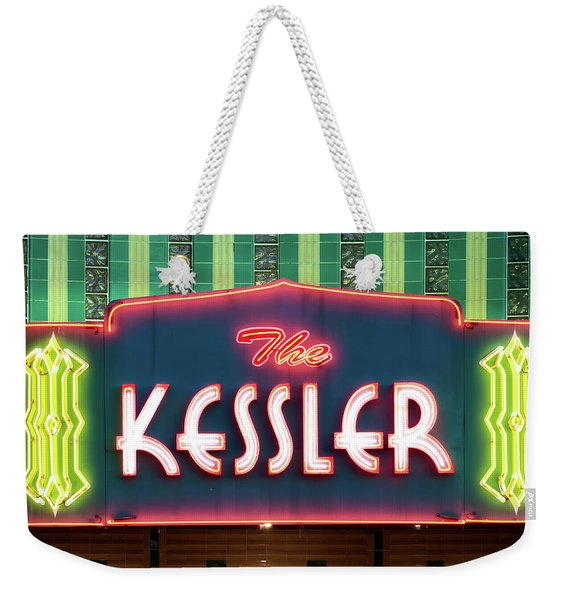 Kessler Theater 042817 Weekender Tote Bag