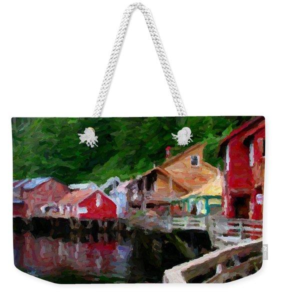 Ketchikan Alaska Weekender Tote Bag
