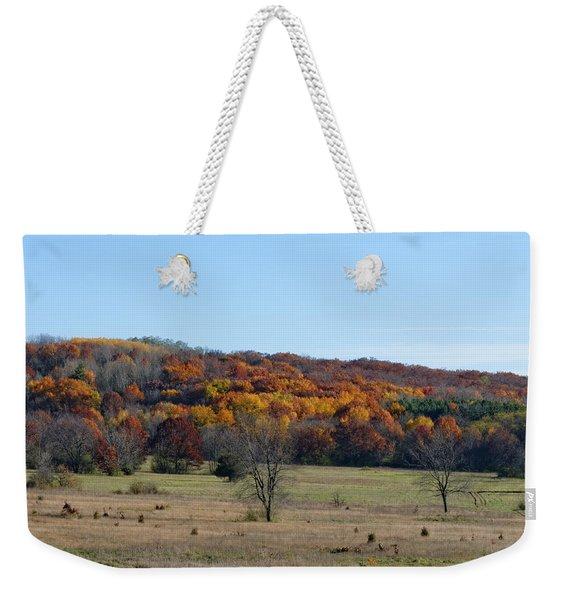 Kettle Morraine In Autumn Weekender Tote Bag