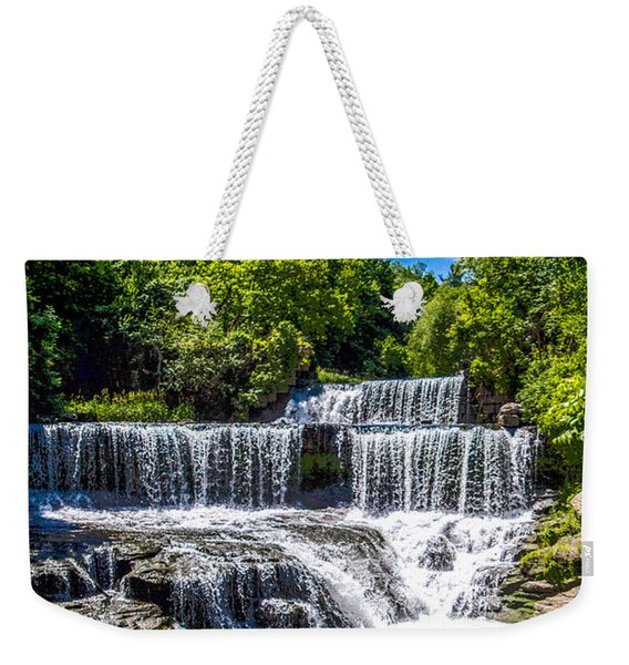 Keuka Outlet Waterfall Weekender Tote Bag