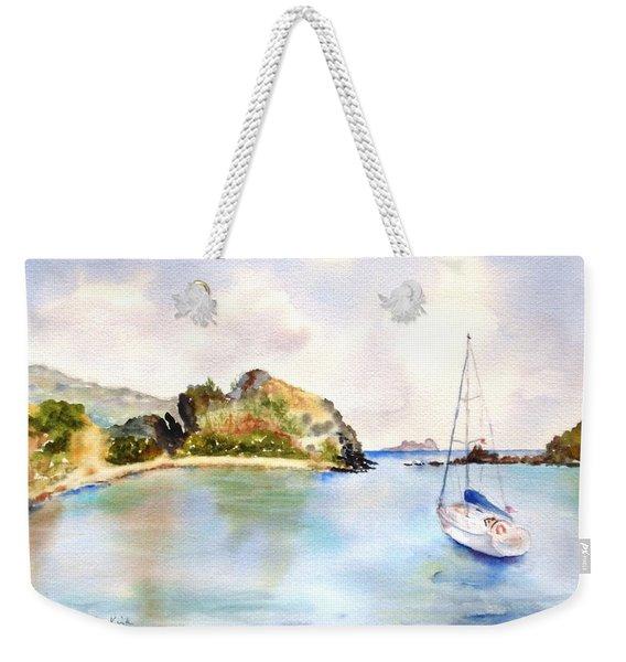 Key Bay, Peter Is. Weekender Tote Bag