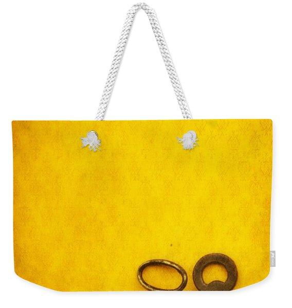 Key Family Weekender Tote Bag