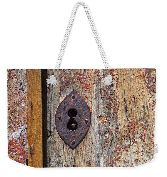 Key Hole Weekender Tote Bag