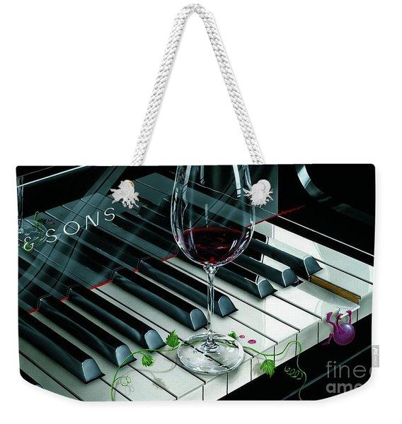 Key To Wine Weekender Tote Bag