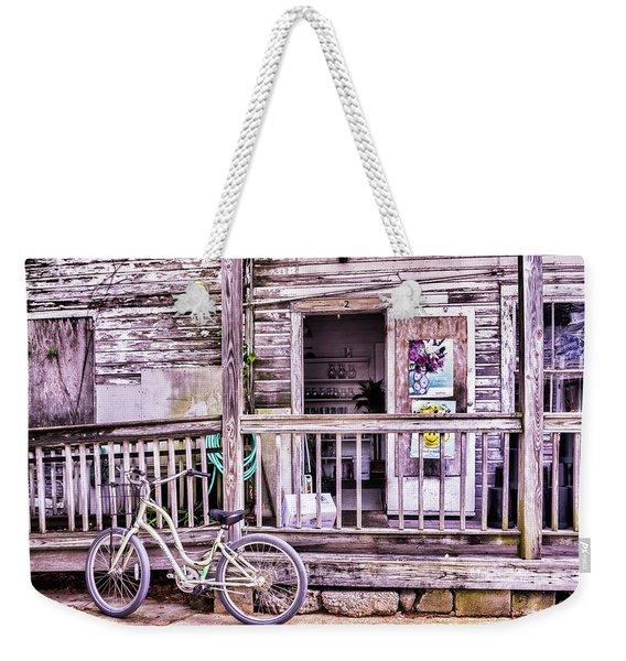 Key West Flower Shop Weekender Tote Bag