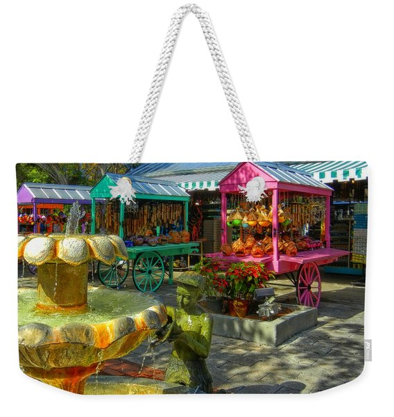 Key West Mallory Square Weekender Tote Bag