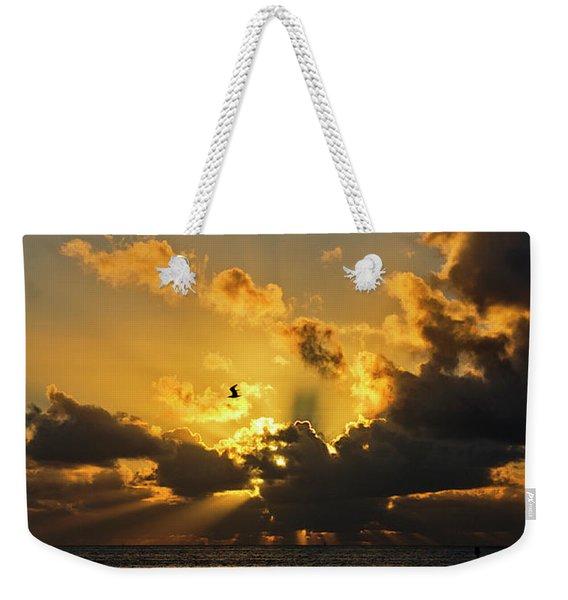 Key West Sunrise 39 Weekender Tote Bag