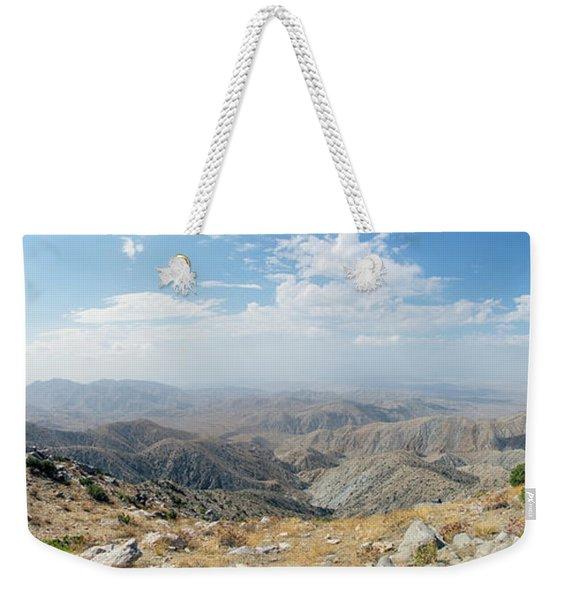 Keys View In Joshua Tree National Park Weekender Tote Bag