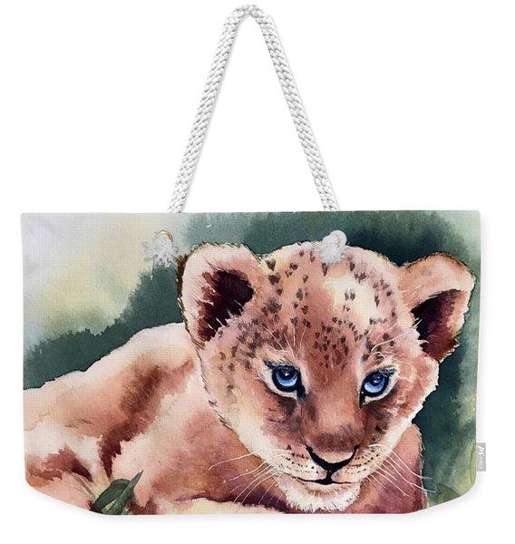 Kijani The Lion Cub Weekender Tote Bag