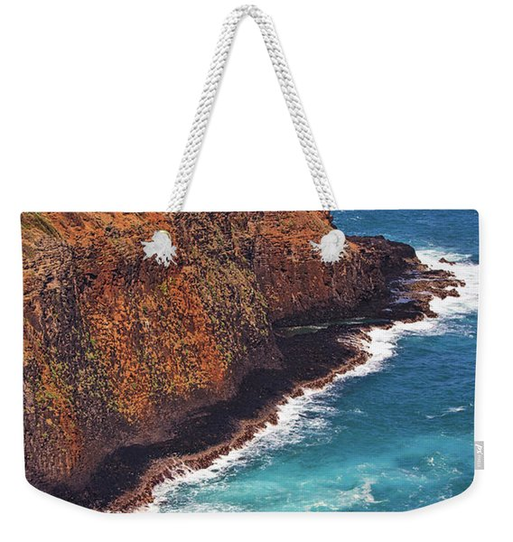 Weekender Tote Bag featuring the photograph Kilauea Lighthouse On The Island Of Kauai, Hawaii, United States Of America          by Sam Antonio Photography