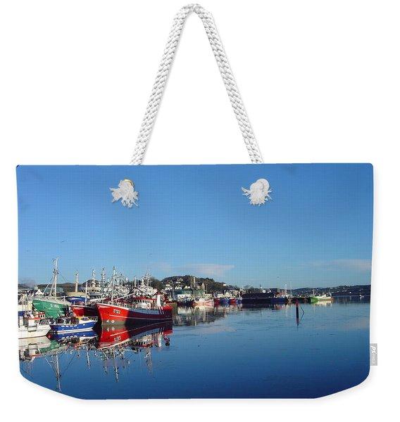 Killeybeggs Harbor Weekender Tote Bag
