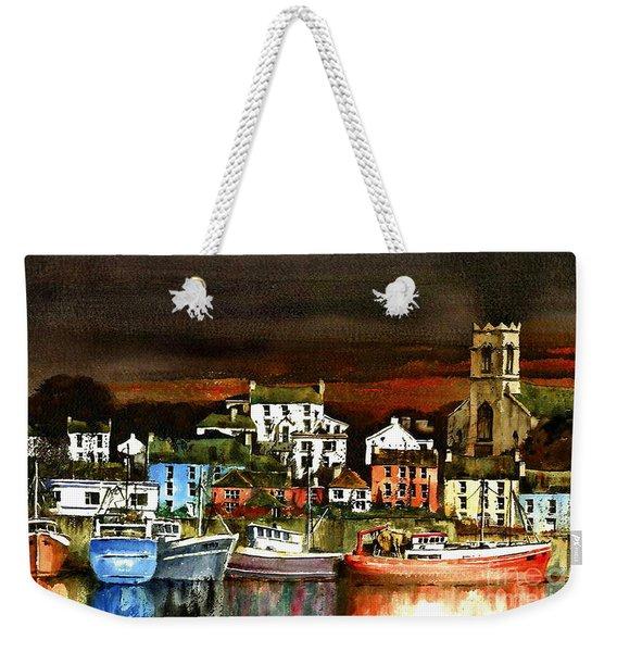 Killybegs Harbour, Donegal. Weekender Tote Bag