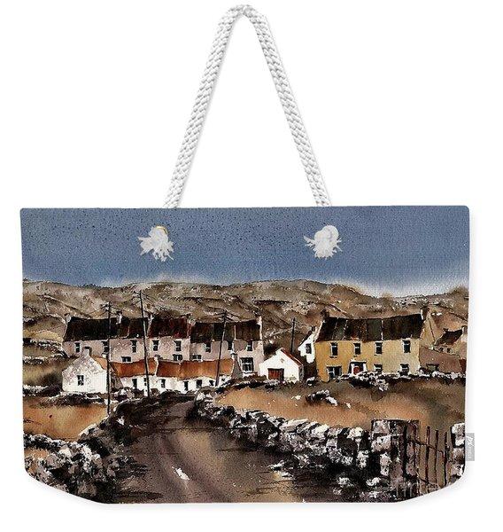 Kilmurvey Inishmore Aran Weekender Tote Bag