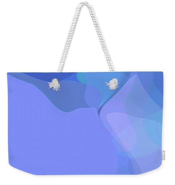 Kind Of Blue Weekender Tote Bag