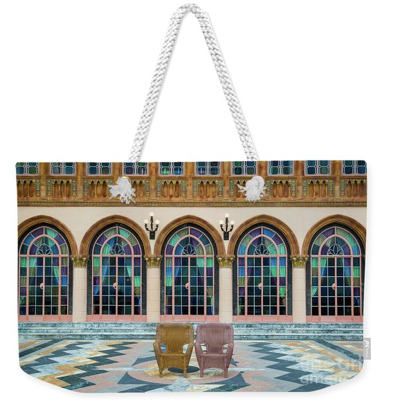 King And Queens Chairs Weekender Tote Bag