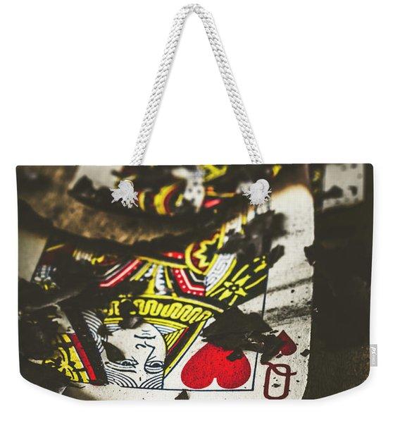 King And Queen Of Broken Hearts Weekender Tote Bag
