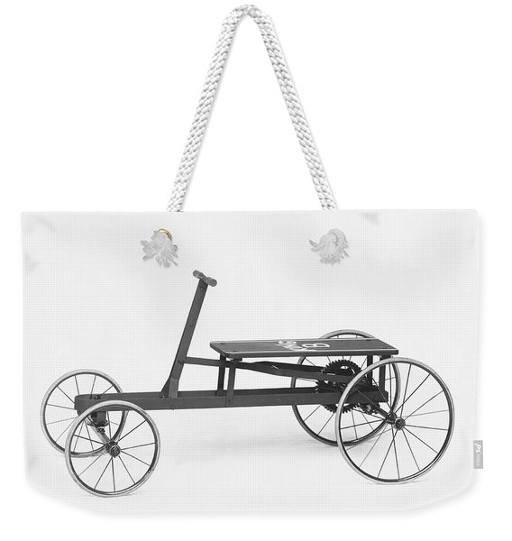 King B Hand Car Weekender Tote Bag