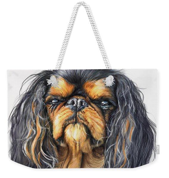King Charles Spaniel Weekender Tote Bag