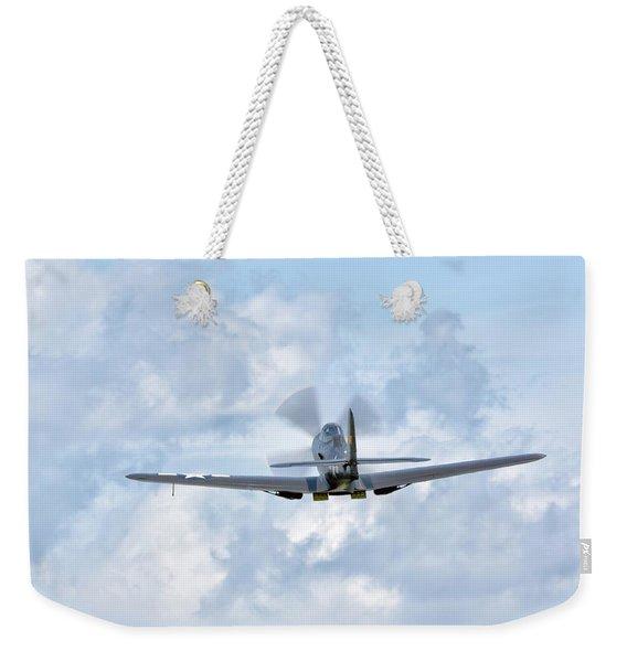 King Cobra Departing - 2017 Christopher Buff, Www.aviationbuff.c Weekender Tote Bag