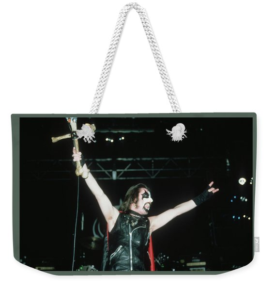 King Diamond Of Mercyful Fate Weekender Tote Bag