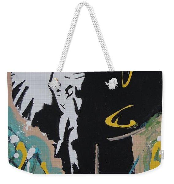 King Elephant Weekender Tote Bag