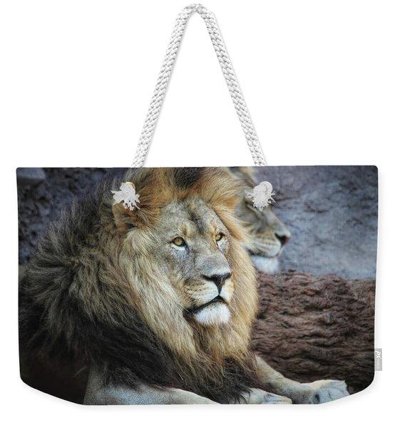 King N Queen Weekender Tote Bag
