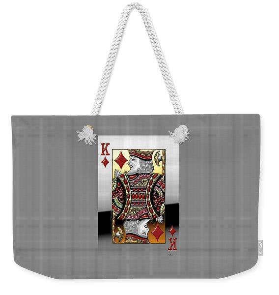 King Of Diamonds   Weekender Tote Bag