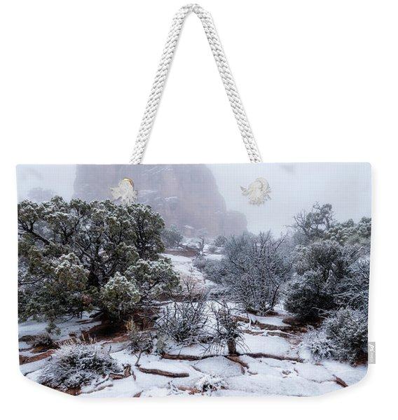 King Of Fog Weekender Tote Bag