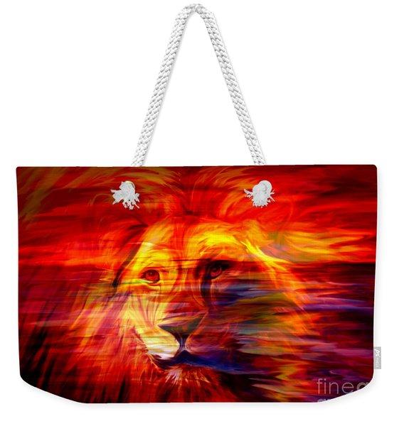 King Of Glory Weekender Tote Bag