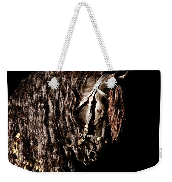 King Of Horses Weekender Tote Bag